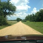 Roads are unpaved