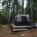 camping at mount desert