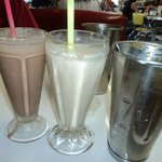 Yummy shakes with refils!!!