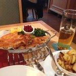 dinner ..huge !!