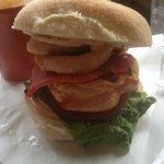 Peri Peri Chicken Burger