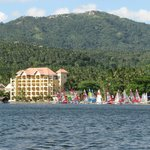 Balai Isabel beach, main hotel, and watersports area '12 Balai Isabel Round Taal Vocano Regatta
