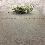 Abigail Adams' tomb