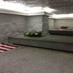Crypt with two Presidents and two first ladies.