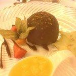 Gala dinner dessert