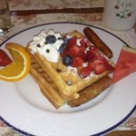 One of the Inn's Delicious Breakfasts