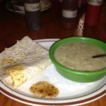 """""""Made it with Love"""" Green Chile Soup"""