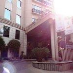 Goldfinch Hotel Bangalore - main entrance