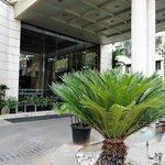 Goldfinch Hotel Bangalore - front entrance