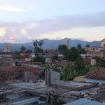 Blick über die Dächer von Trinidat