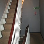 Narrow staircases