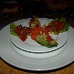 Petite salade Marocaine préparée par Saïda