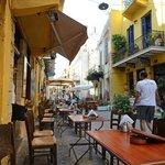 Street-life surrounding Casa Venata