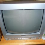 TV is ancient and small