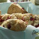 Amazing Homemade Cranberry Scones