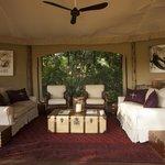 Mara Plains Camp - Main lounge