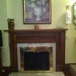 Captrains Room Fireplace