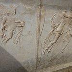 Fine wall sculpture detail