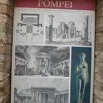 Pompeii placard
