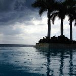 Infinity Pool and afternoon rains