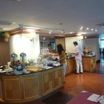 Buffet breakfast at Sintra Restaurant