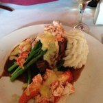 Filet Mignon and Lobster Special - yummmmmm