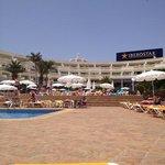 Main pool area in centre of Lanzarote Park