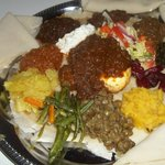 ethiopian food minilik especially.