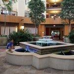 Hotel Atrium area