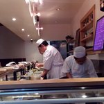 Busy Sushi Chef