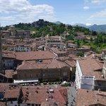 View over Bergamo