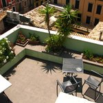Roof terrace 2nd level view