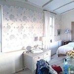 The en-suite room upstairs