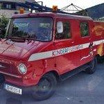 Hotel brandweerwagen