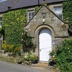 This is the entrance to the farmhouse