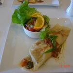 vegetarian crepe