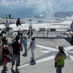 Barbecue en face du Mont Blanc