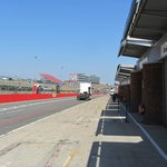 Paddock view on thursday before BSB