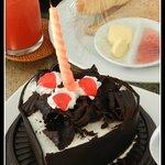 Birthday Cake from Bidadari Management and Team