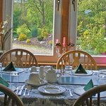 Breakfast Room with views of the Gardens