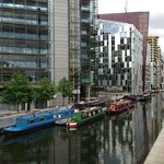 Paddington Basin - a short walk from the hotel