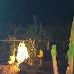 terrasse bar de nuit