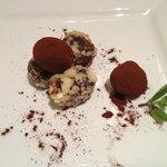 tartufi al cioccolato con Kahlua
