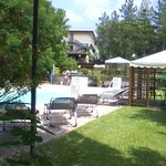 scorcio della piscina esterna