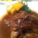 Fegato alla Montanara - The liver.... beautifully cooked..