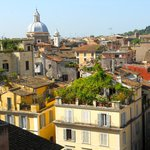 roof top view of Rome