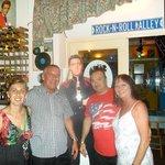 Josie , Billy , Simon , Elaine