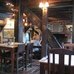 Oak beams and cosy atmosphere