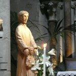 Statue inside church
