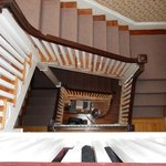3 andares de escada